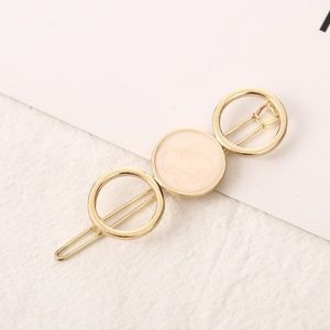 5 for $25 Pink Acrylic Stone Hair Clip Pin